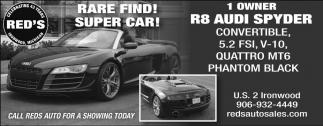 R8  Audi Spyder
