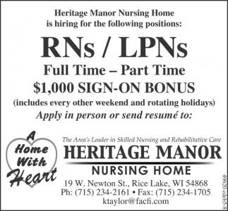 RNs / LPNs