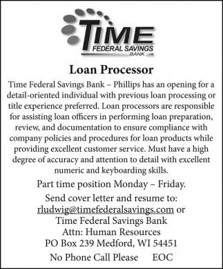 Loan Processor
