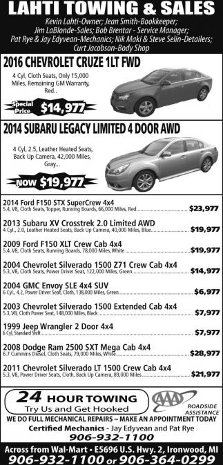 Chevrolet, Subaru