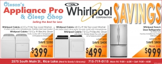Whirlpool SAVINGS