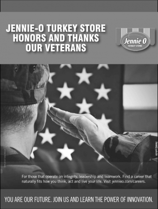 Honors and Thanks our Veterans