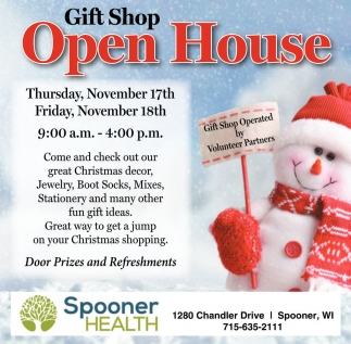 Gift Shop Open House