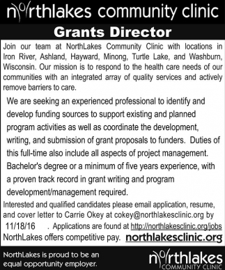 Grants Director