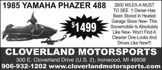 1985 Yamaha Phazer 488