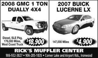 2008 GMC / 2007 Buick