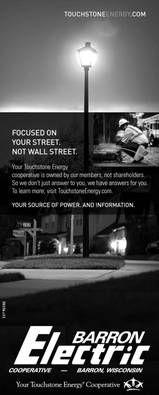Focused on your street. Not Wall Street