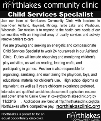 Child Services Specialist