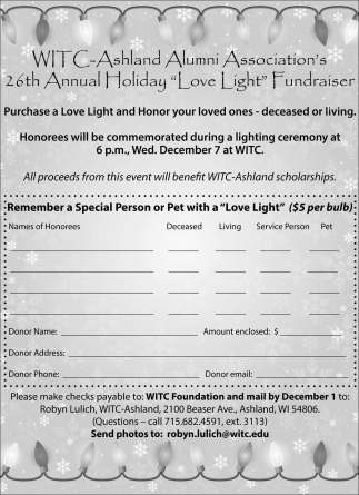 26th Annual Holiday