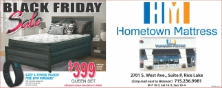Hometown Mattress Home Furnishing Ads from Rice Lake Chronotype. Friday Sale  Hometown Mattress  Rice Lake  WI