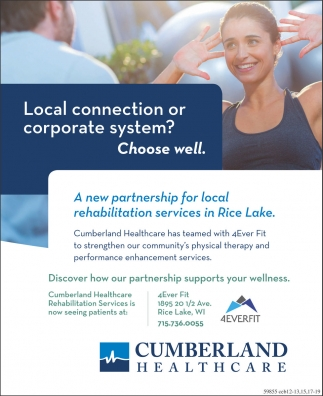 Rehabilitation Services in Rice Lake