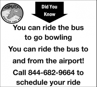 You can ride the bus