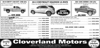 Chevy, Chevrolet, GMC