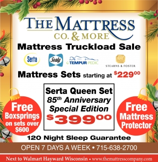 Mattress Truckload Sale