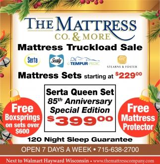 Mattress Truckload Sale