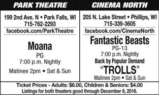 Moana - Fantastic Beasts