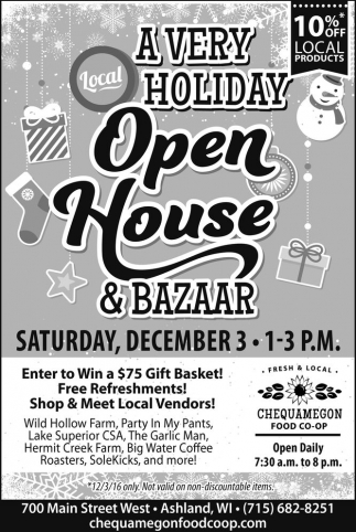 A Very Holiday Open House & Bazaar