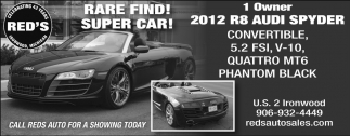 RARE FIND! SUPER CAR!