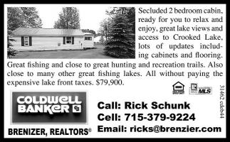 Call: Rick Schunk