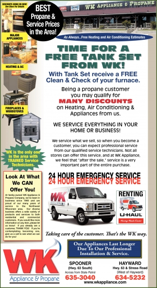 BEST Propane and Service Prices in the Area!