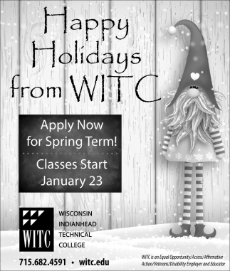 Happy Holidays from WITC