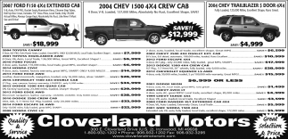 Ford, Chev