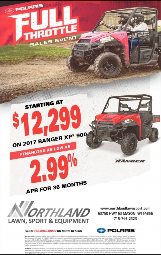 Polaris Ful Throttle Sales Event