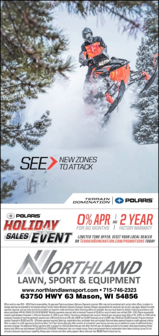 Polaris Holidays Sales Event
