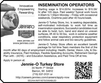 Insemination Operators