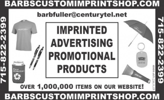 IMPRINTED ADVERTISING PROMOTIONAL PRODUCTS