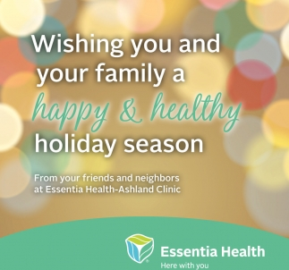 Happy & Healthy Holiday Season