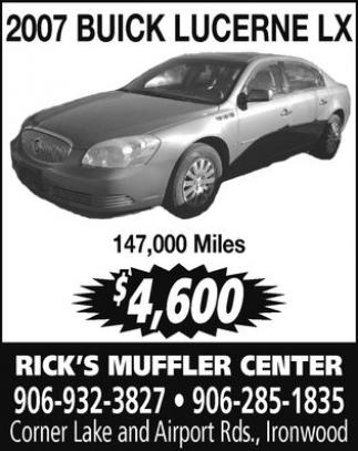 2007 Buick Lucerne LX