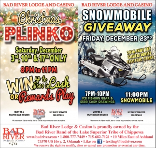 Snowmobile Giveaway